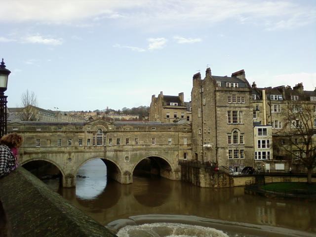 Bathの街並み