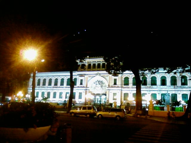 中央郵便局(Buu Dien Thanh Pho)