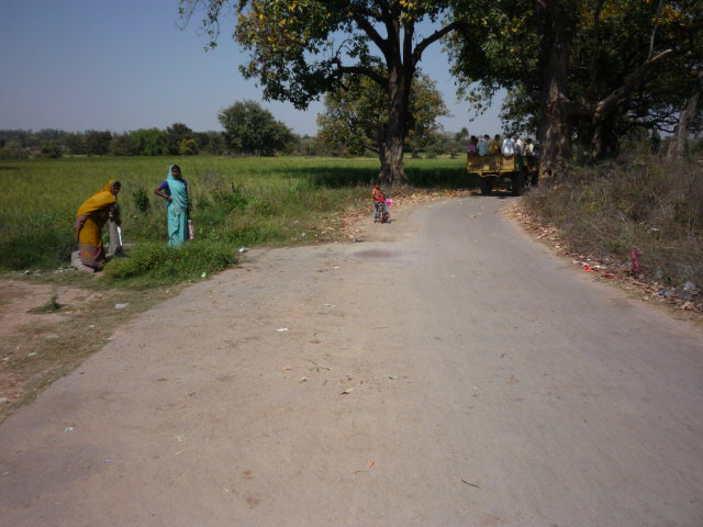 Khajuraho country area