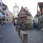 ドイツのグーテンベルク街並み