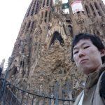 スペイン・バルセロナのサグラダファミリア